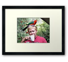 Parrot coffee, Killarney, Qld, Australia Framed Print