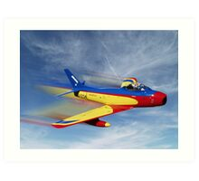 F-86 Art Print