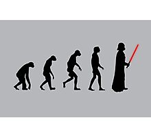 Evolution of the dark side Photographic Print