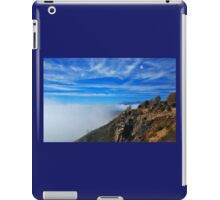 Today on the mountain ! iPad Case/Skin