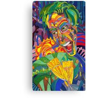 Battle Cries and Champagne Canvas Print
