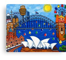 Sensational Sydney Canvas Print