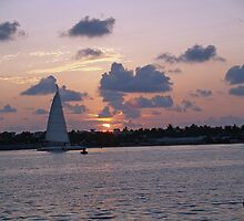 Sunset in Key West by Jimettadog