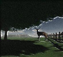Deer Sighting by BrokenWings