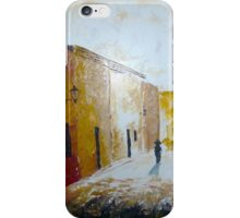 Calle empedrada iPhone Case/Skin