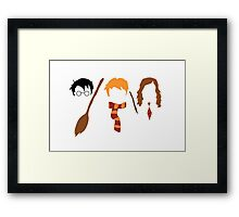 Harry Potter Trio  Framed Print