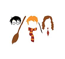 Harry Potter Trio  Photographic Print