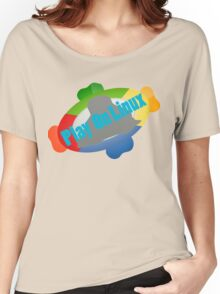 Play on Linux Women's Relaxed Fit T-Shirt