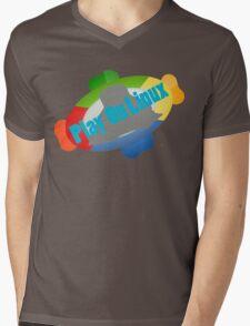 Play on Linux Mens V-Neck T-Shirt