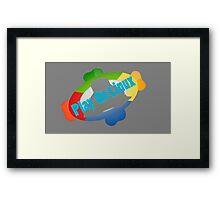 Play on Linux Framed Print