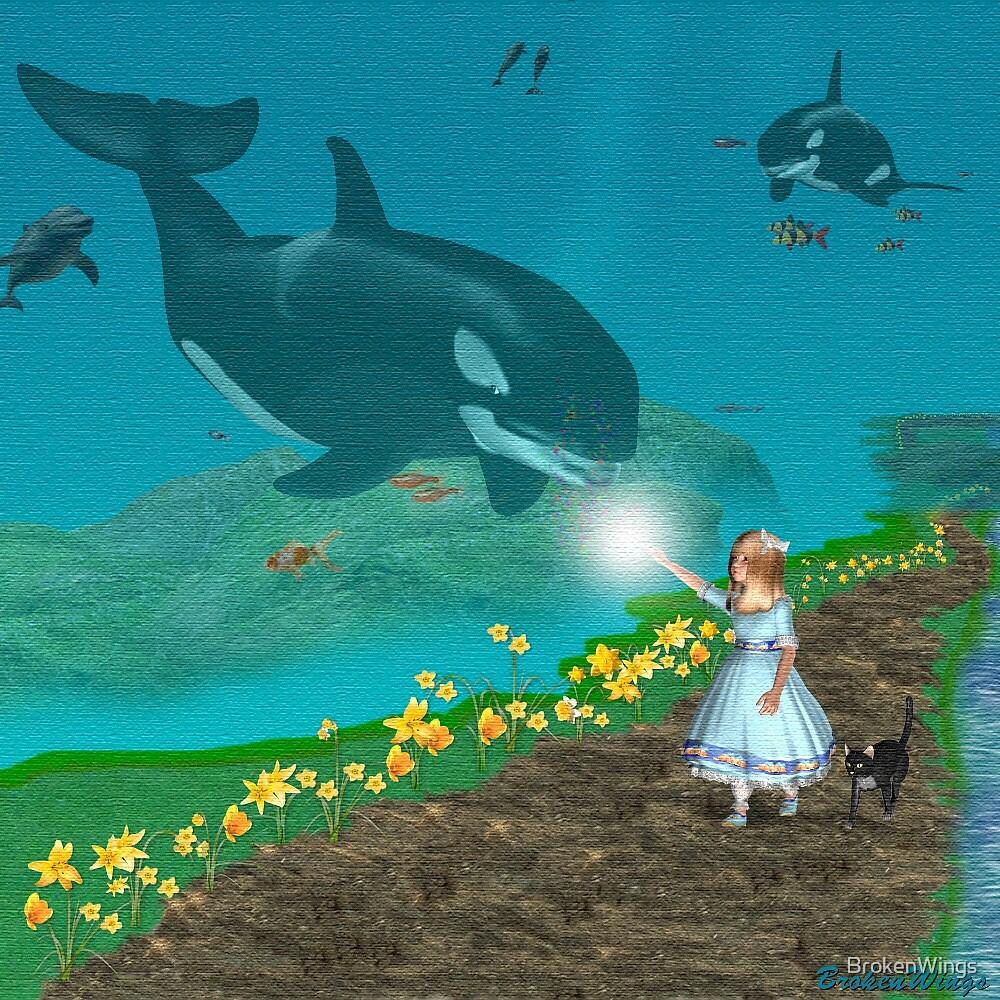 Imagination by BrokenWings