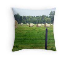 hayrolls Throw Pillow