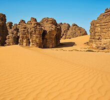 Tassili Sahara by Omar Dakhane