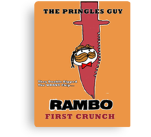 Rambo: First Chip Canvas Print