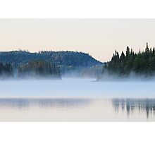Mist on the Lake Photographic Print