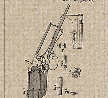 1839 Colt Firearm Patent by Barry  Jones