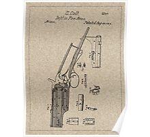 1839 Colt Firearm Patent Poster