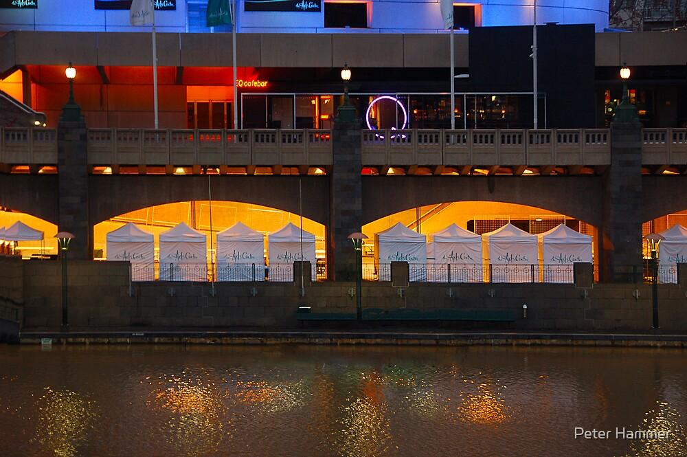Southbank Art Market by Peter Hammer