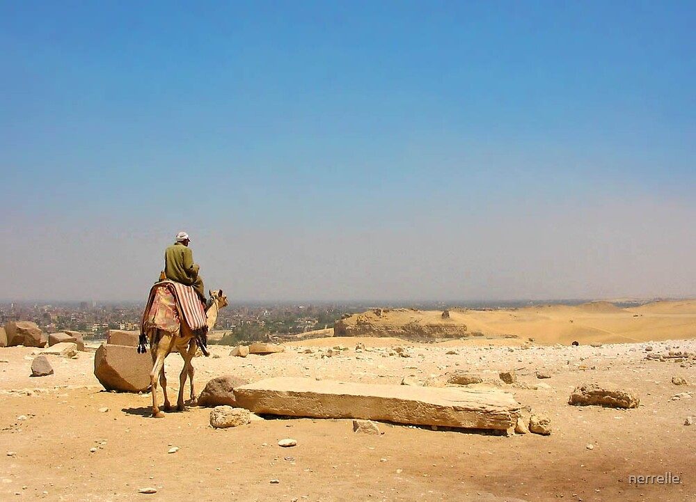 view from giza by nerrelle
