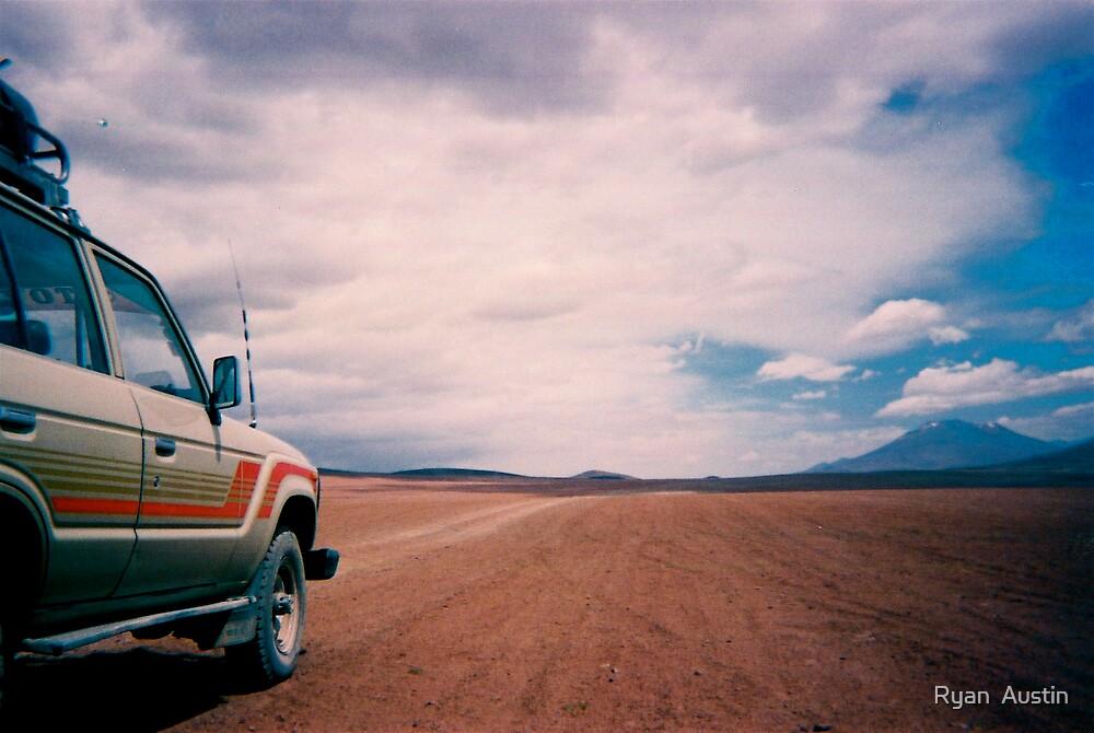 desert highway by Ryan  Austin