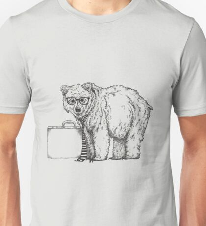 Go into Busines with a Grizzly Bear (2) Unisex T-Shirt
