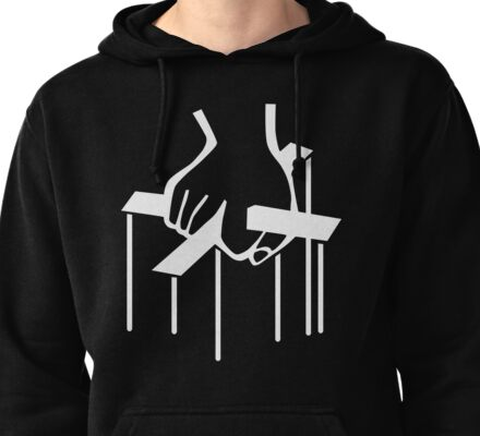 The Godfather Hand No Strings Attached Pullover Hoodie