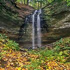 Tannery Falls Autumn by Kenneth Keifer