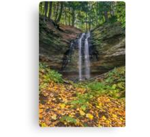 Tannery Falls Autumn Canvas Print