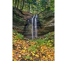 Tannery Falls Autumn Photographic Print