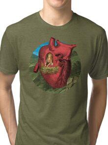 Heart's Ease Traveler's Rest Tri-blend T-Shirt