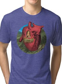 Heart's Ease Traveler's Rest Tri-blend T-Shirt