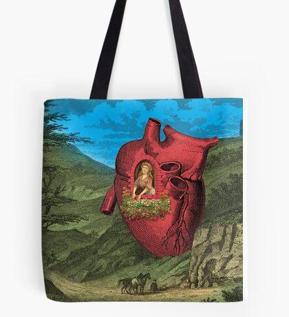 Heart's Ease Traveler's Rest Tote Bag