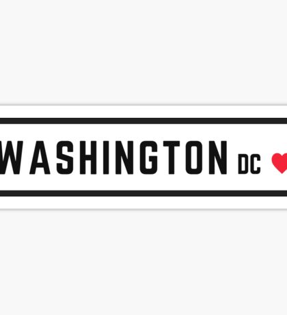 Washington DC #2 Sticker