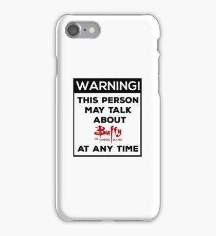 Buffy iPhone Case/Skin