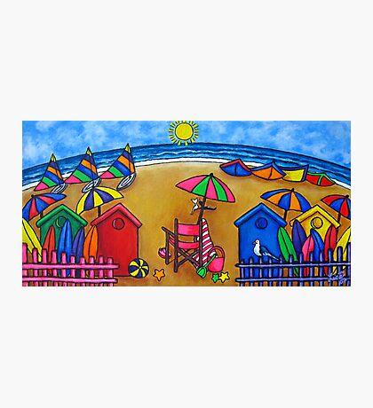 Beach Colours Photographic Print