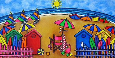 Beach Colours by LisaLorenz