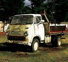 Old Truck by Katherine Kakafikas