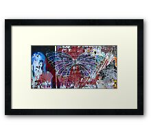 Graffiti City Framed Print