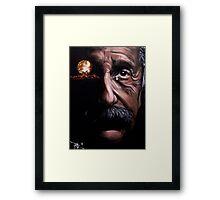 Tears of a Genius Framed Print