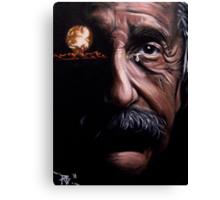 Tears of a Genius Canvas Print