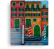 Colours of Venice Canvas Print