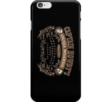Captain Howdy's Ouija Boards (Color Print) iPhone Case/Skin