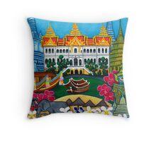 Exotic Bangkok Throw Pillow