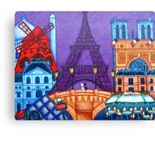 Wonders of Paris Canvas Print