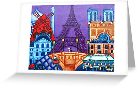 Wonders of Paris by LisaLorenz