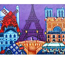 Wonders of Paris Photographic Print