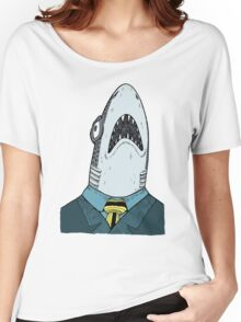 The Clothes Make the Shark Women's Relaxed Fit T-Shirt