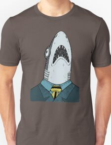 The Clothes Make the Shark Unisex T-Shirt