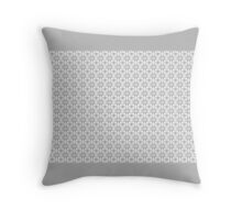 GREY and WHITE DECOR and GIFTS Throw Pillow