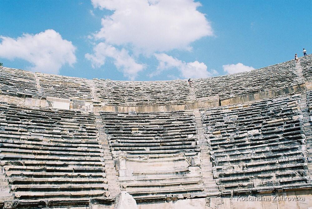 stone theater by Kostandina Zafirovska